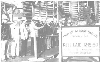 avondale lays keel for largest